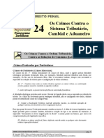 PEN 24 - Os Crimes Contra o Sistema Tributário