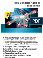 6 Alasan Mengapa Audit TI Diperlukan
