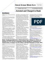June 18, 2011 - The Federal Crimes Watch Daily