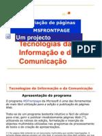 Apresentação FrontPage