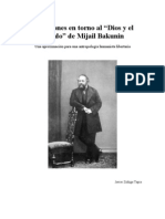 Reflexiones en Torno Al Dios y El Estado de Bakunin