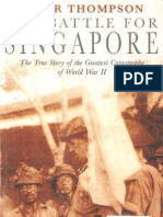 Thompson, Peter - [NF] the Battle for Singapore [v1.0]