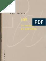 Eric Hazan - La Propagande Du Quotidien