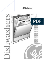 GE Dishwasher User Manual