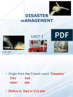 Disaster Management - i