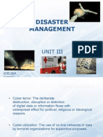 Disaster Management - III