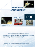 Disaster Management - IV