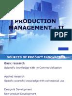 Production Management - II