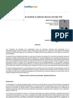 Psicologiapdf 110 Los Trastornos de Ansiedad La Epidemia Silenciosa Del Siglo Xxi