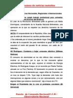 Resumen de Noticias Matutino 18-06-2011