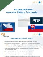 Presentación sector automoción Chequia y Eslovaquia ACTUALIZADA