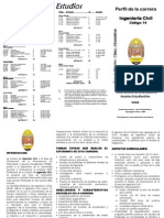 Plan de estudios de Ingeniería Civil UNAH