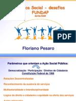 Apresentacao de Floriano Pesaro