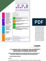 Prendes, N. Tratamiento digital de imágenes como herramienta de evaluación y análisis en la restauración. 2006