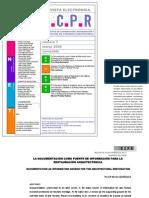 Rivas, P. Documentación como fuente información. 2006