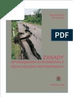Zasady sporządzania dokumentacji geologiczno-inżynierskich