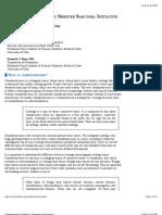 Chondrosarcoma Diagnosis, Treatment and Prognosis