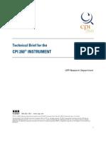 CPI260 Technical Brief