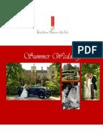 Summer Wedding Brochure