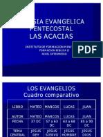 Los Evangelios Resumen y Cuadro Comparativos