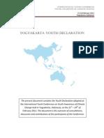 Yogyakarta Declaration - Final Feb 2011