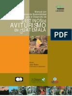AVITURISMO EN GUATEMALA