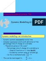 Lecture 04 Dynamic Modelling 2006