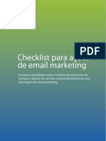Checklist Para Acoes de Email Marketing