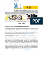 The Hidden Job Report for 6.20.11