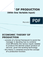 2theory of Production