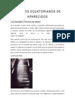 Cuentos Ecuatorianos de Aparecidos