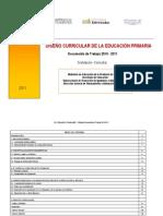 Propuesta Curricular de Cordoba 2011