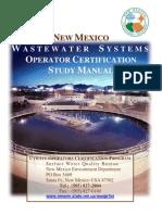 Waste Water Operator Study Manual