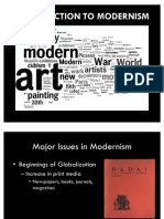 The  –isms of Modernism