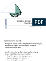 Kertas Kerja Audit & Program Audit