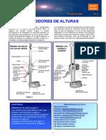 Medidores de Altura, Tolerancias Geometric As y Codigos de Proteccion