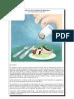 O mito do sal no aquário de água doce