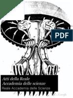 Atti Della Reale Accademia Delle Scienze - 1825
