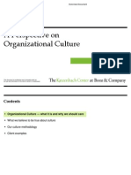 Booz&Co Perspective Organizational Culture Final