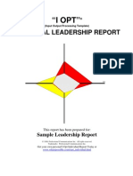 I-Opt Sample Leadership
