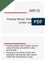 BAB III_Piutang Wesel