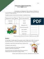 Evaluation 1 Formation Prix Cap Tertiaire