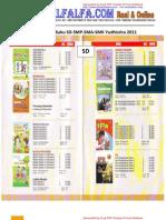 Daftar Harga Buku SD-SMP-SMA-SMK Yudhistira 2011