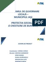 PROGRAM DE GUVERNARE LOCALA – PROTECTIE SOCIALA