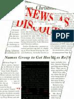 Teun a Van Dijk - News as Discourse 1998
