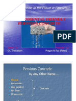 Pervious Concrete and its application