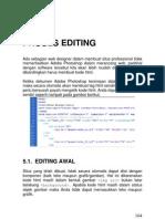 Bab 5 - Proses Editing Web Design