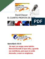 David Owuor - El cuarto profeta