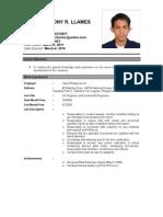 Mark Resume