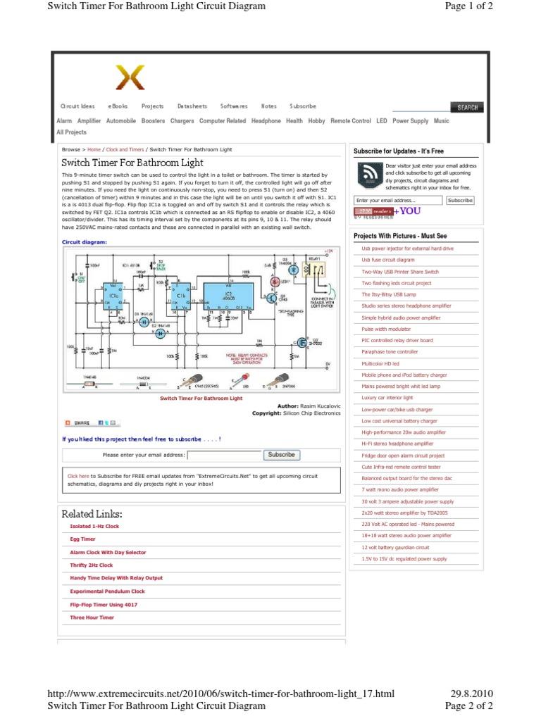 Thrifty 2hz Clock Circuit Diagram - Wiring Diagram Options